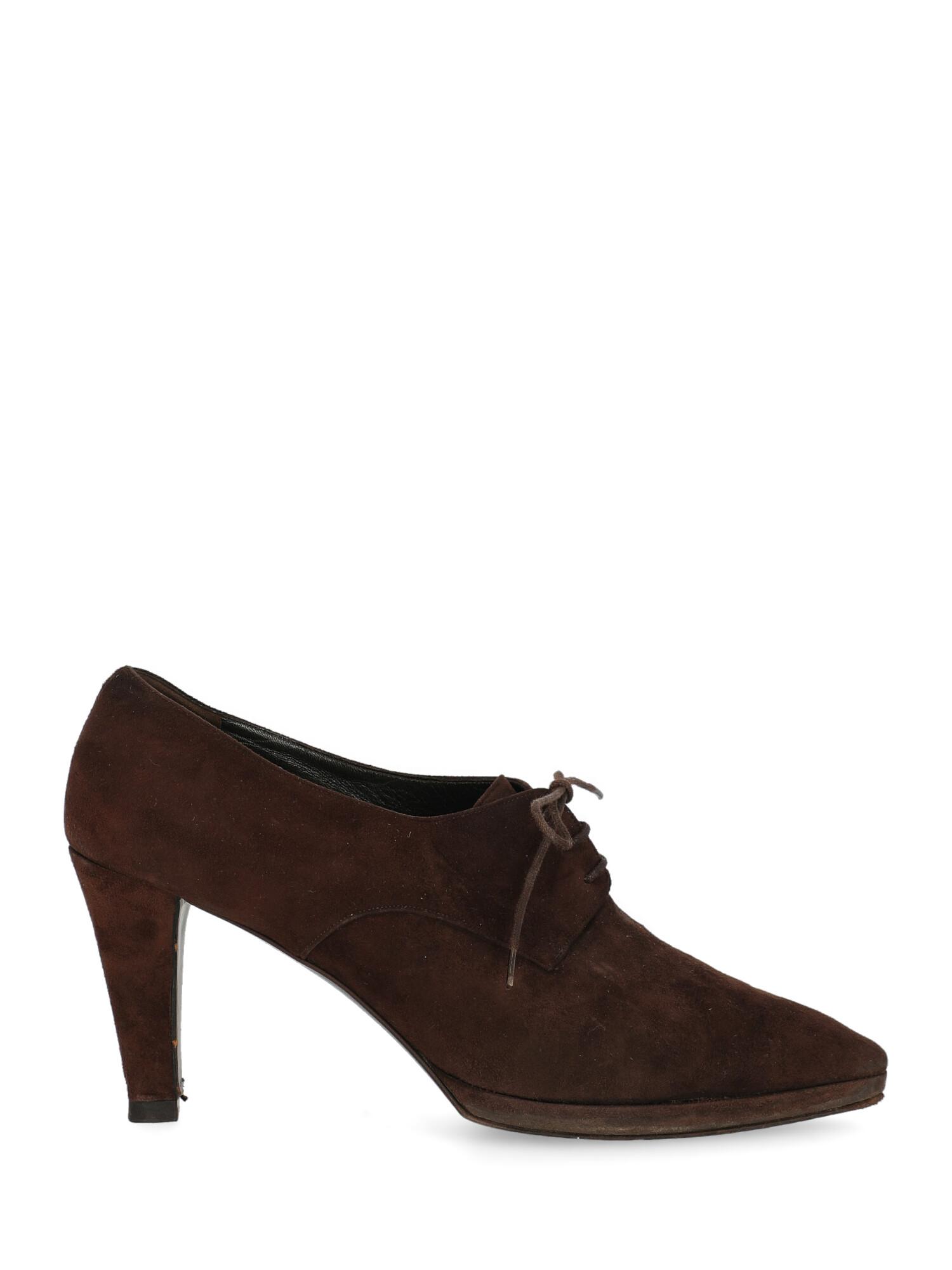 Pre-owned Prada Shoe In Brown