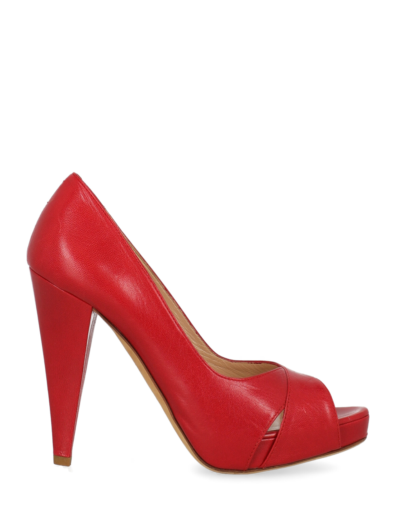 Pre-owned Bally Shoe In Red