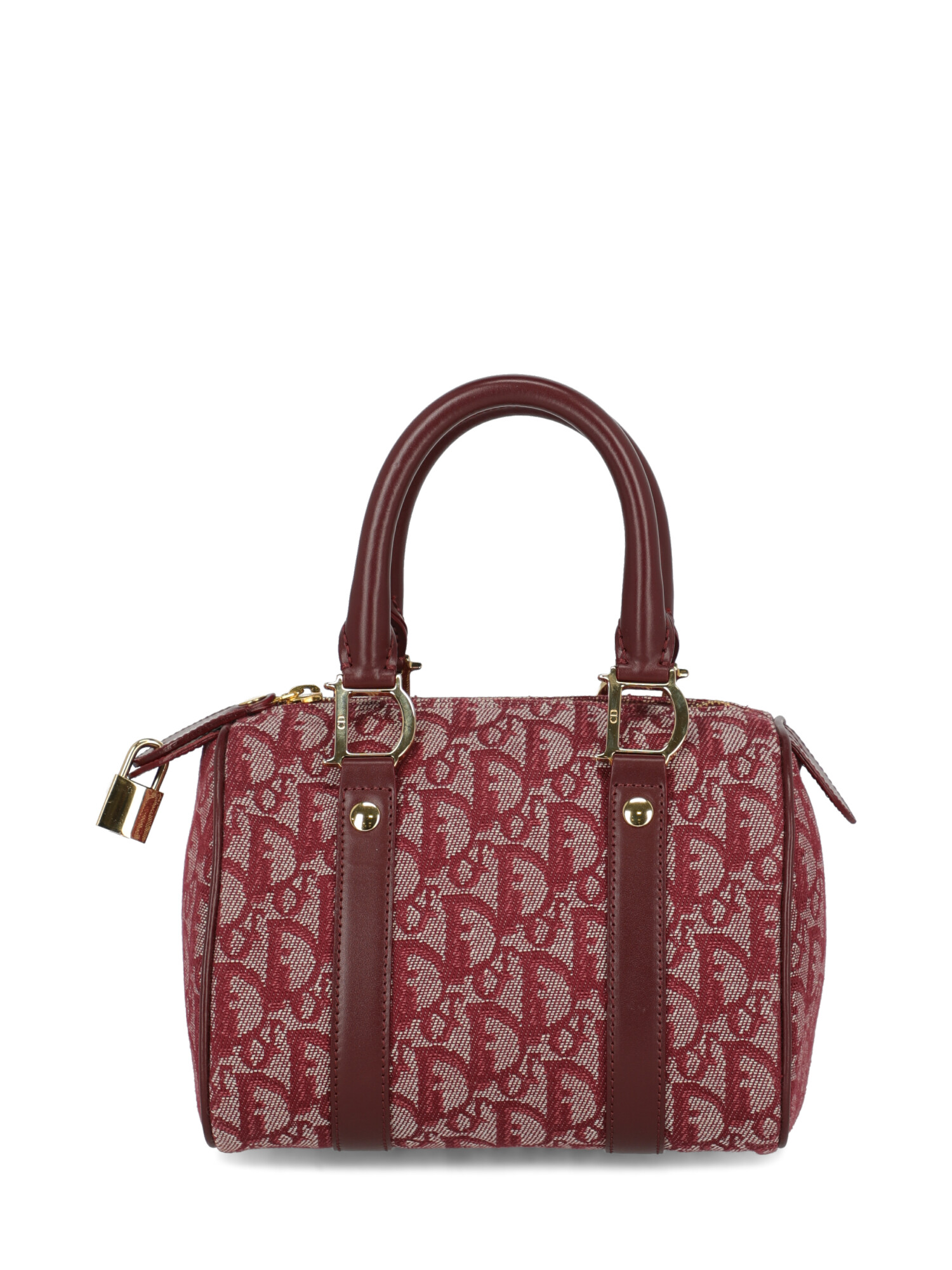 Pre-owned Dior Woman In Burgundy