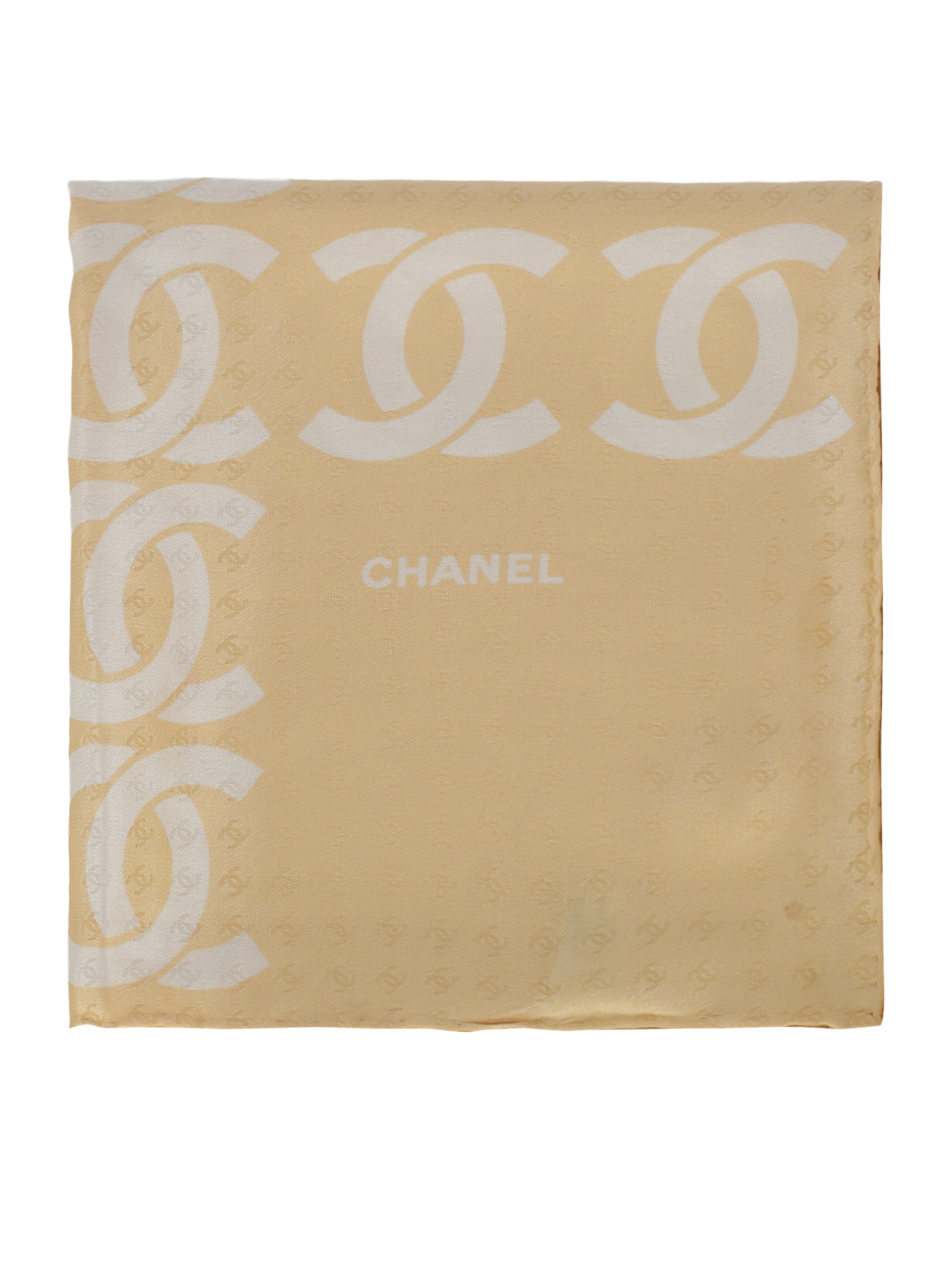 Pre-owned Chanel Clothing In Beige, White