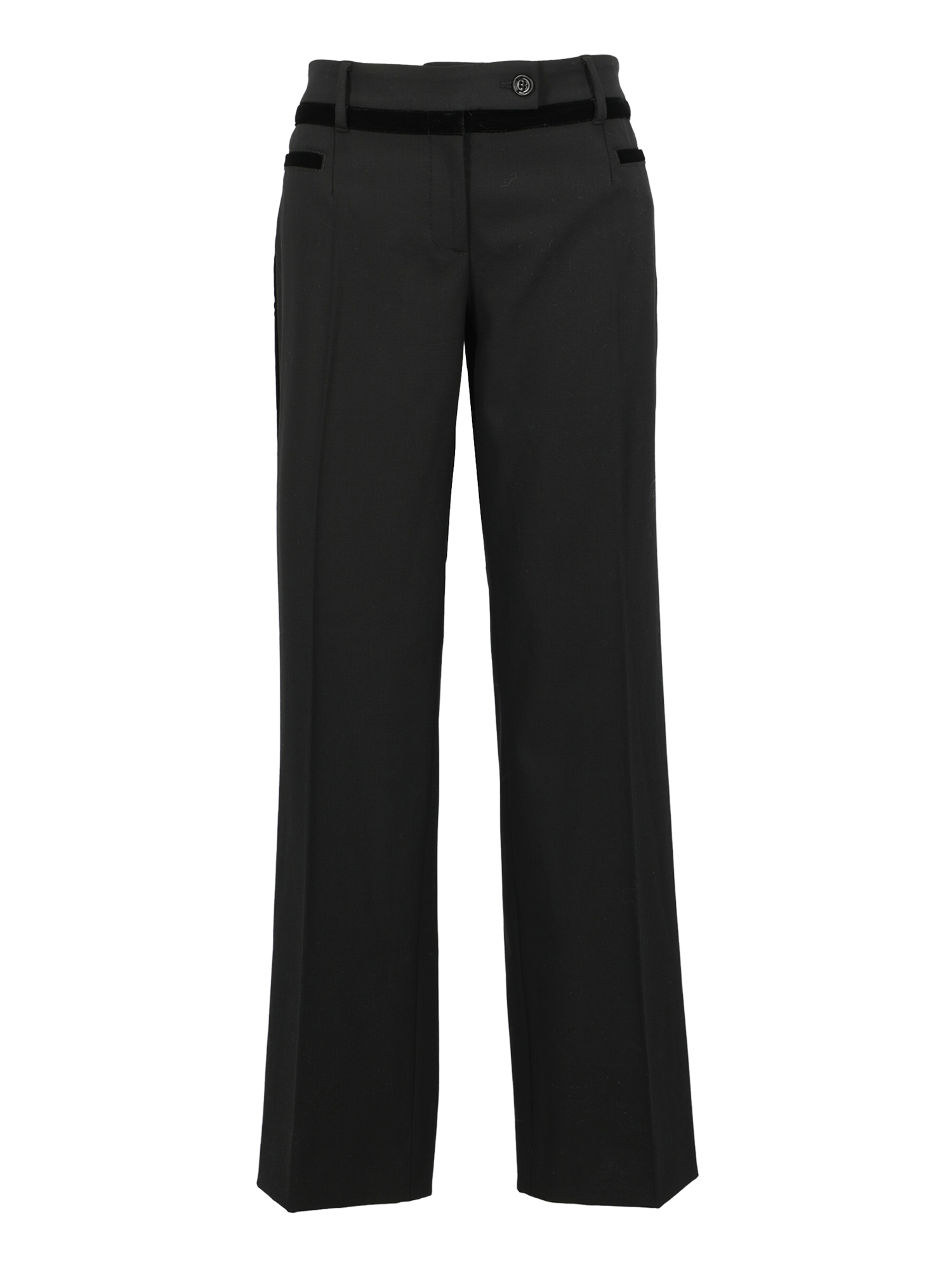 Pre-owned Dolce & Gabbana Trousers In Black