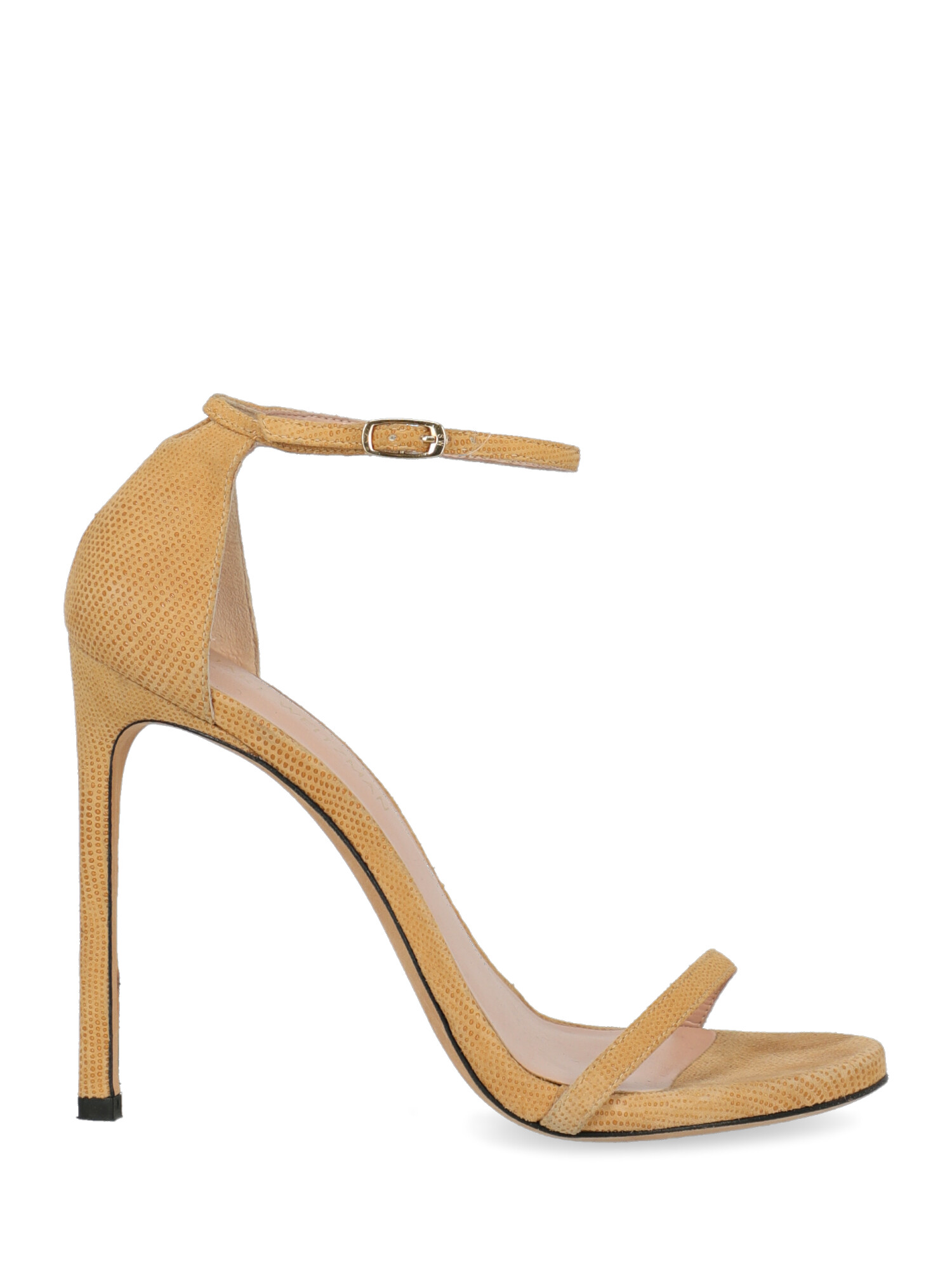 Pre-owned Stuart Weitzman Shoe In Beige