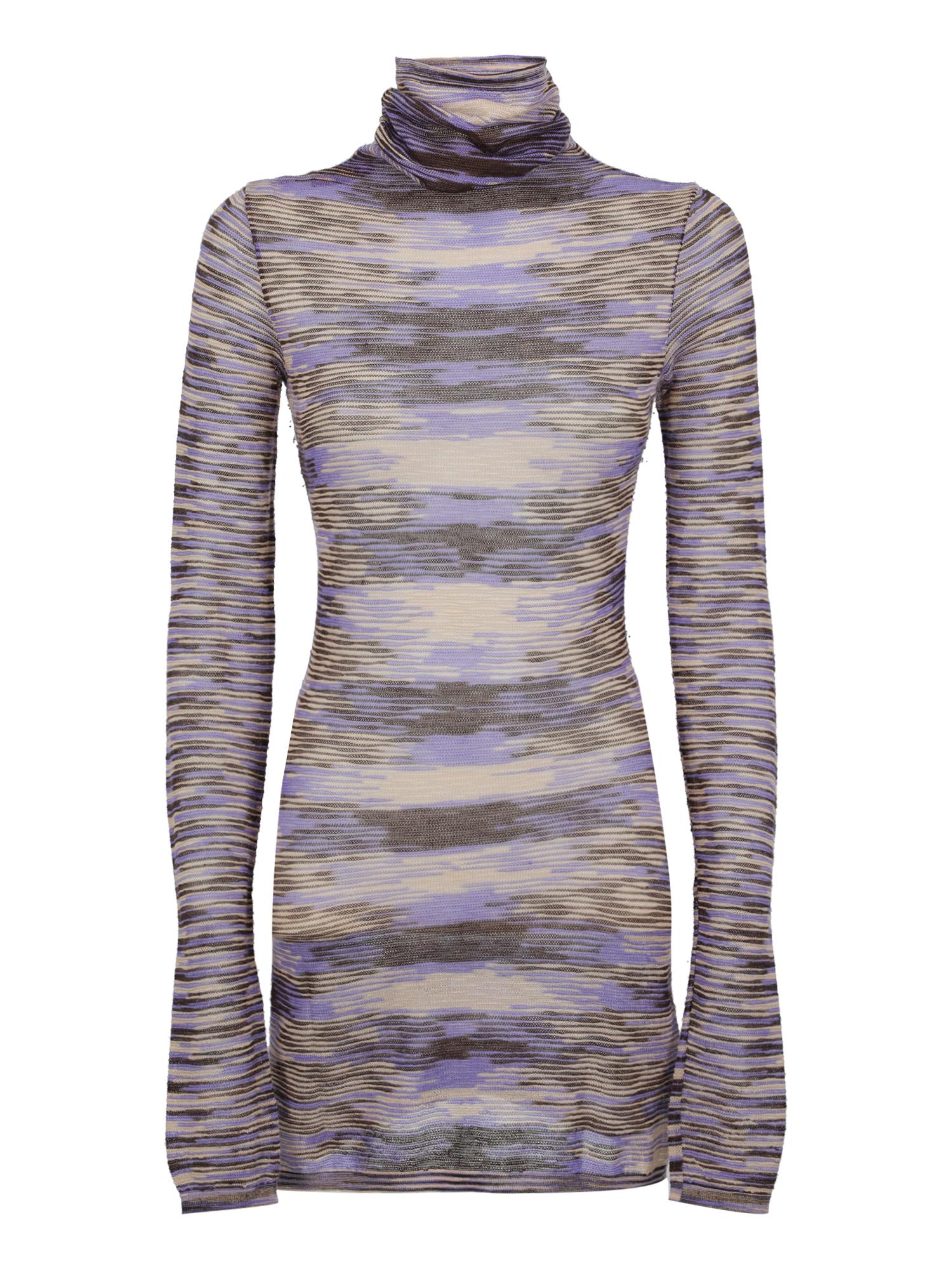 Pre-owned Missoni Clothing In Brown, Purple