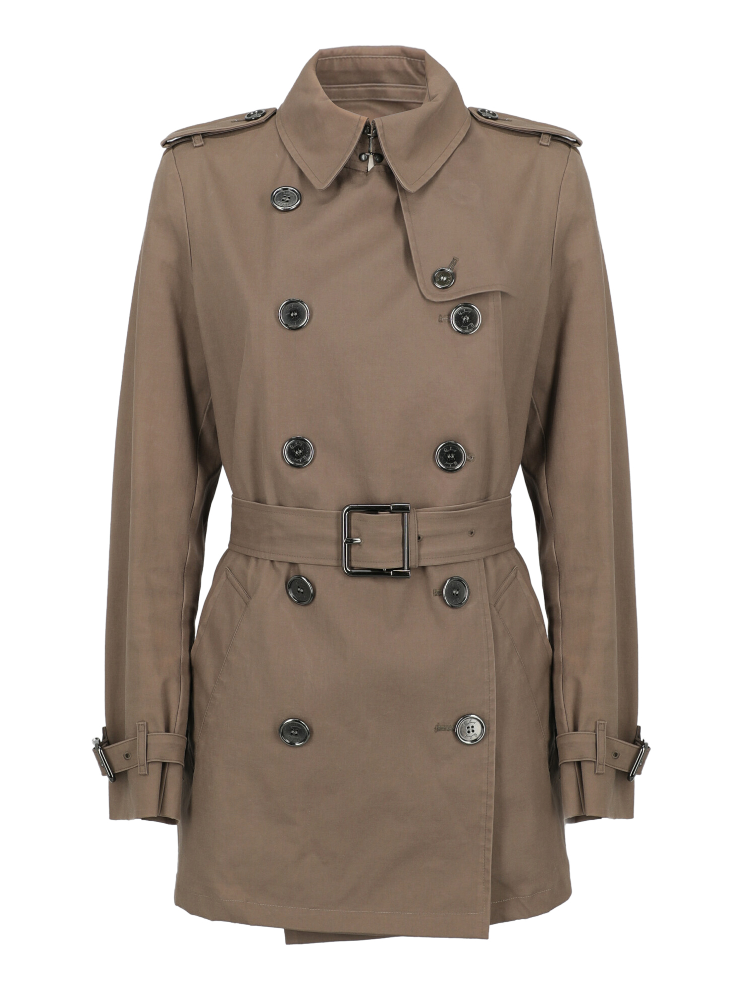 Pre-owned Burberry Clothing In Brown