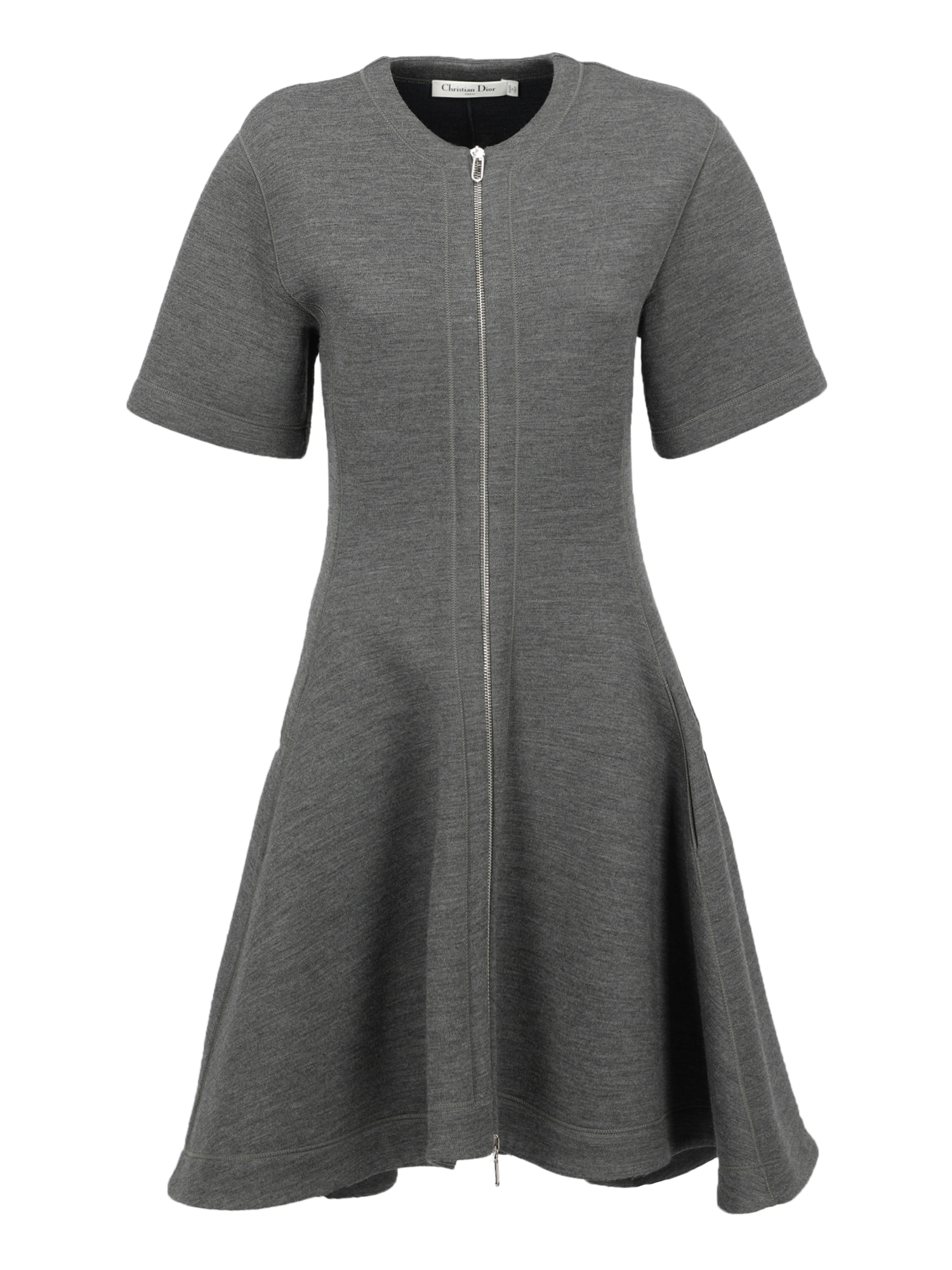 Pre-owned Dior Clothing In Grey