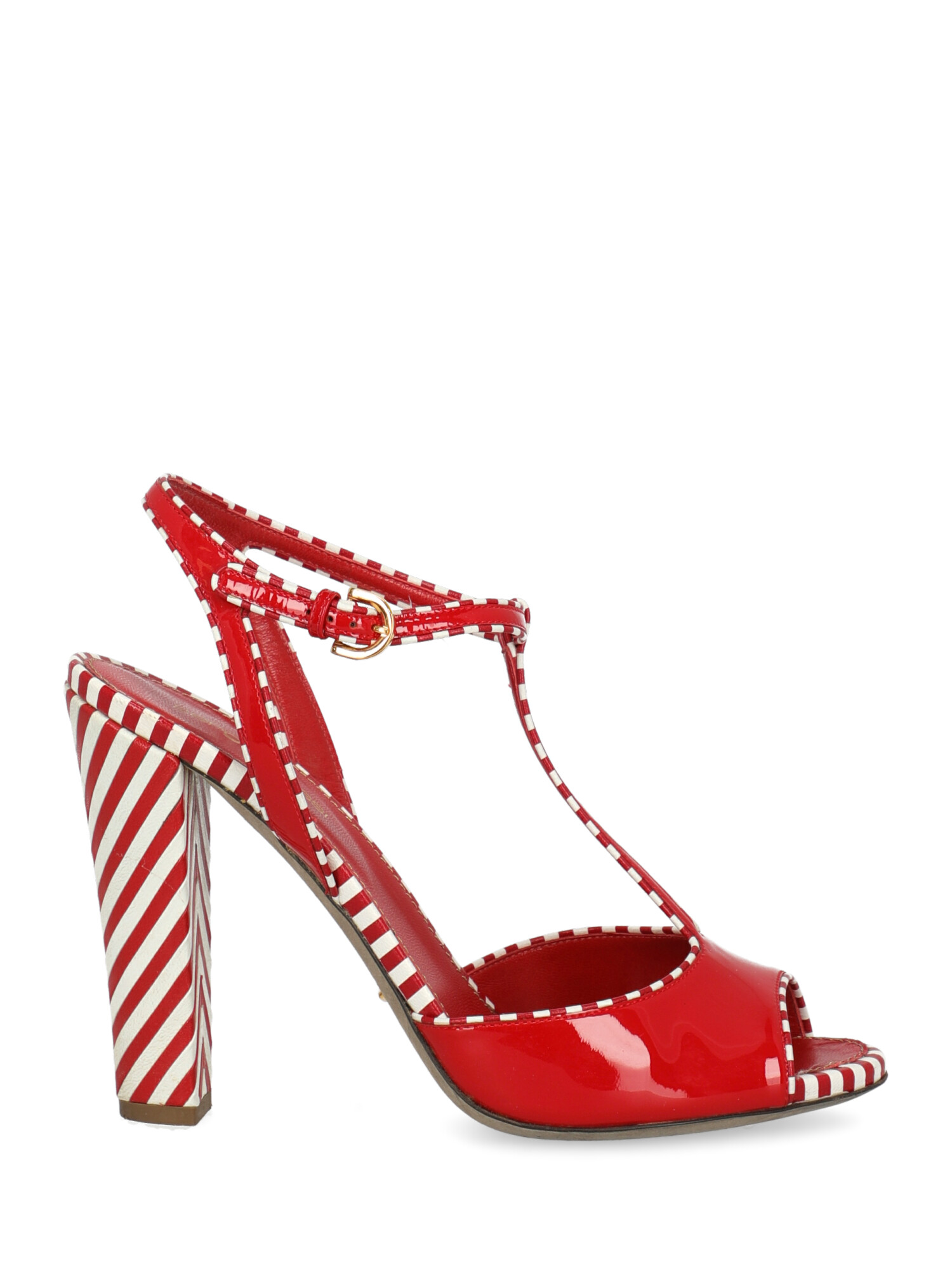 Pre-owned Sergio Rossi Shoe In Red, White