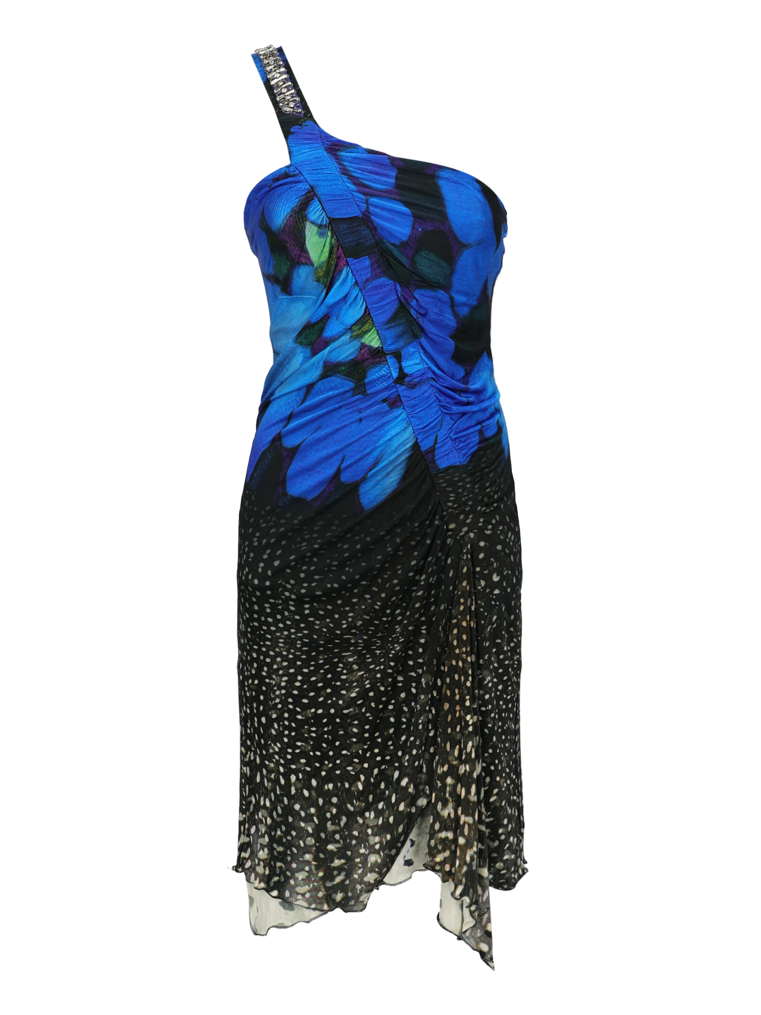 Pre-owned Roberto Cavalli Clothing In Black, Navy