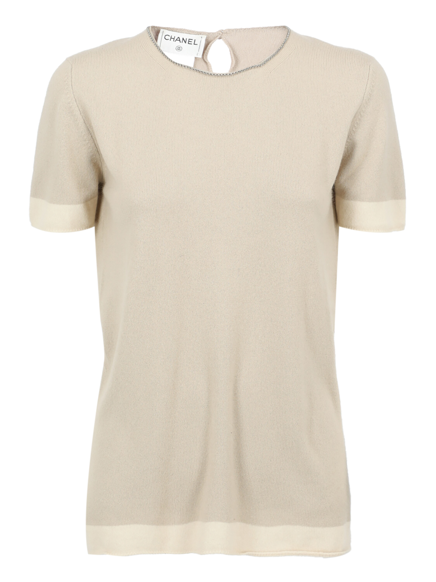 Pre-owned Chanel Clothing In Beige