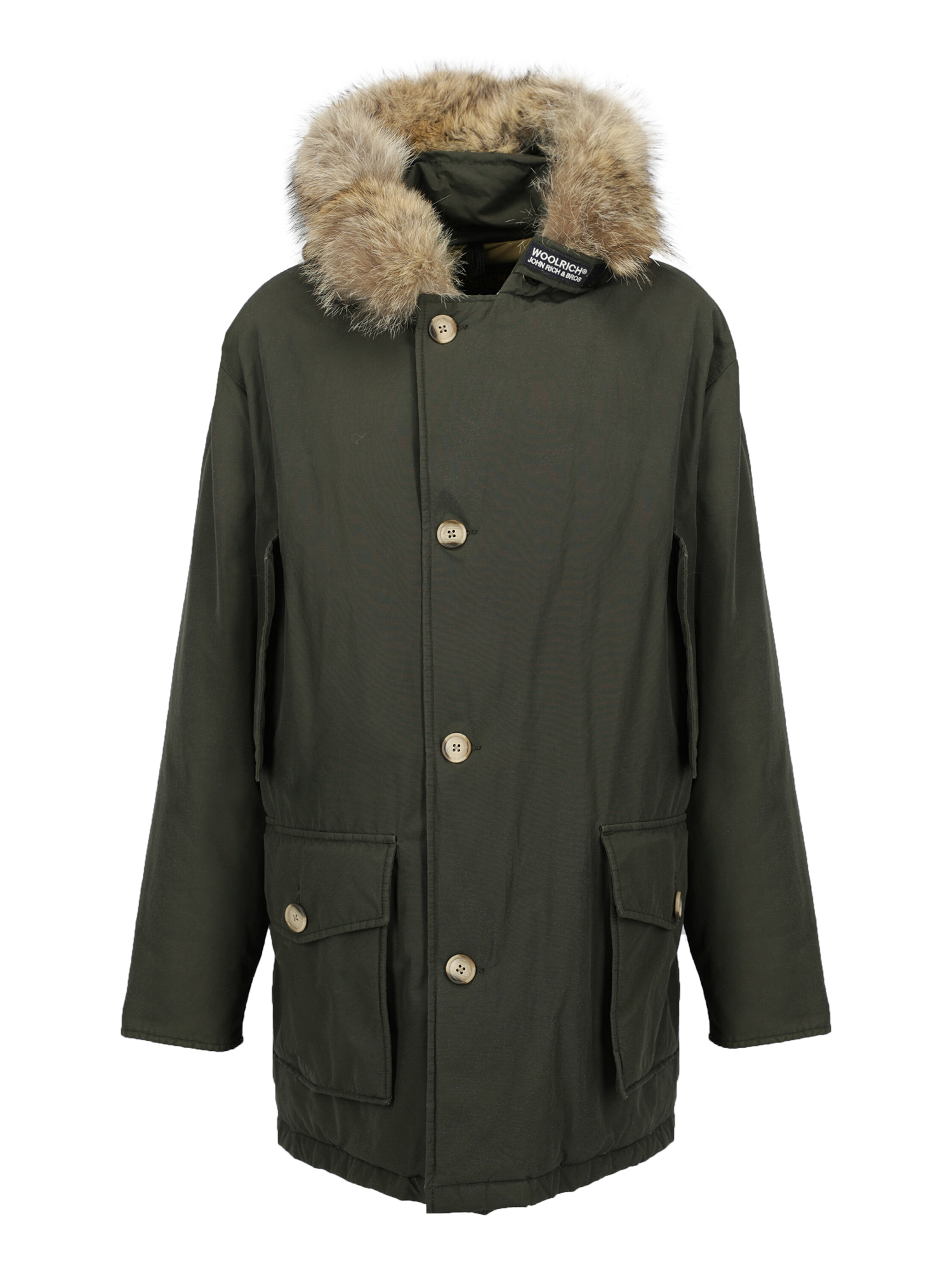 Pre-owned Woolrich Clothing In Green