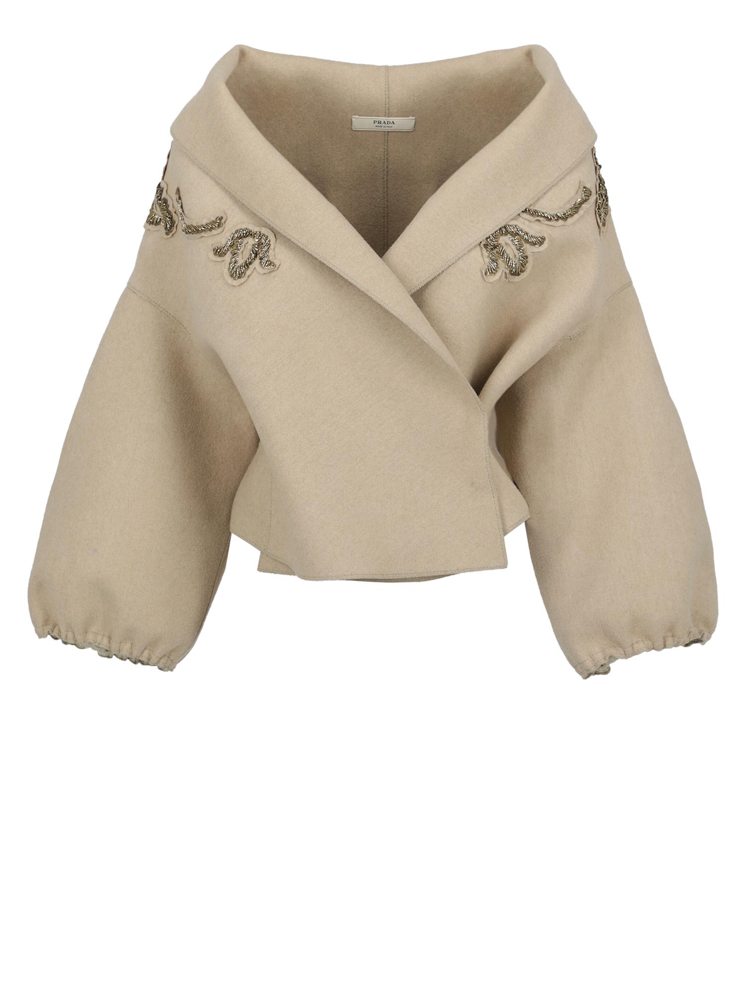 Pre-owned Prada Clothing In Beige